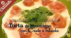 Vediamo come Benedetta Parodi prepara una cheese cake salata con la ricetta della Torta di Stracchino con Prosciutto Crudo e Rucola . La b...