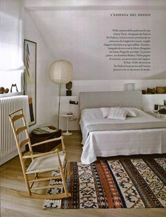 Maddalena de Padova essence of design for Marie Claire Maison Italian Furniture, Indoor, Bed, Design, Home Decor, Houses, Interior, Decoration Home, Stream Bed
