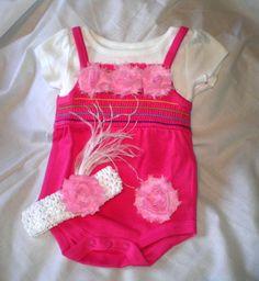 Newborn Onesie 0  3 Months Baby Clothes by BittysBabyCreations, $25.95