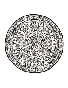 Mystical Mandala Coloring Book: Completed