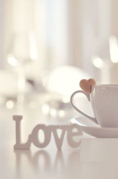 ♔ Love and tea I Love Coffee, Coffee Break, My Coffee, Lamentations, Love Wallpaper, Coffee Cafe, Love Heart, Heart Knot, Cute Wallpapers
