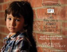 Reducing the Risk - Child Abuse Awareness Month