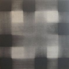 Richard Allen 1933-1999 Untitled Charcoal Painting, c1979 charcoal and cellulose acetate on canvas 31 7/8 x 31 7/8 inches http://www.waterman.co.uk/exhibitions/24/works/artworks1981/