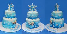 Frozen Elsa Cake - Cake by ErinLo - CakesDecor