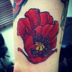 Poppy tattoo...