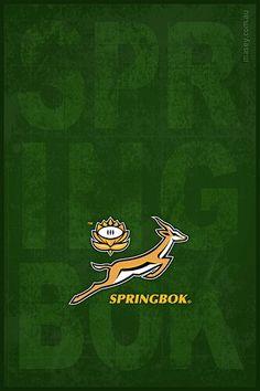 I love the springbok rugby team!
