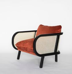 BuzziCane: Modern Seating with Traditional Woven Cane Backs - Design Milk