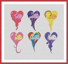 Cross stitch pattern PDF My Little Pony: by CrossStitchForYou