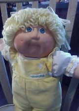"Vintage Cabbage Patch Kids 1978, 1982 Original Appalachian obras de arte .16 ""de altura"