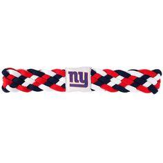 New York Giants NFL Braided Head Band 6 Braid
