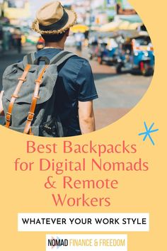 From durability to security, if you're a remote worker picking up a new bag and wondering which is the best digital nomad backpack for you, look no further.