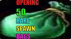 cool Loot from 50 RARE SPAWN Bags in World of Warcraft