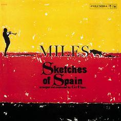 358 Miles Davis, 'Sketches of Spain'. De muziek van Miles Davis is altijd al betoverend. Dit album is een waar sprookje. Prachtig!