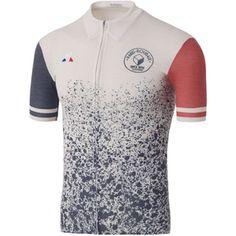 Le Coq Sportif Men s Paris Roubaix Pro Short Sleeved Jersey - White  Image  1 Cycling 30e088461
