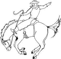cowboy horse coloring pages kids cowboy horse coloring pages kids