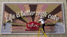 Everyone Can Stop Making Billboards, Because These Guys Made One Entirely Out of Cake | Adweek