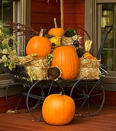 Old wagon for fall!