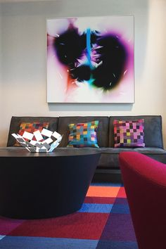 Artwork that is Inspiring an attitude in your home.   Artwork by Richard Slechta.  Click for detail images.
