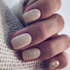 20 Hottest & Catchiest Nail Polish Trends in 2019 Pastel Pink Nails, Pink Nail Colors, New Year's Nails, Hair And Nails, Nail Swag, Cute Nails, Pretty Nails, Nailart, Bridal Nail Art