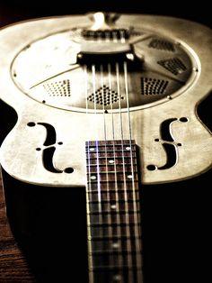 National Duolian steel resonator guitar.