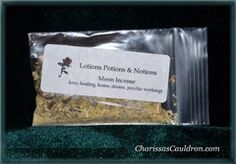 Moon Powdered Incense by Lotions Potions Notions