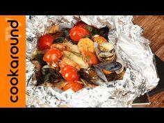 Cartoccio di orata ai frutti di mare / Cartoccio di mare - YouTube