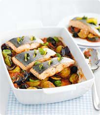 Sainsbury's Mediterranean Fish Bake