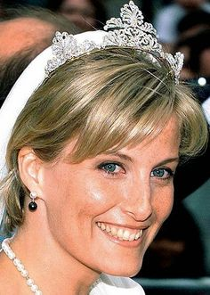 Tiara Mania: Countess of Wessex's Anthemion Tiara