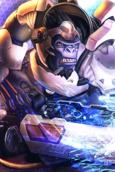 Overwatch - Winston by AIM-art