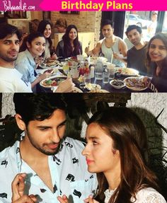 Will Alia Bhatt party with her close buddies or go for an intimate outing with boyfriend Sidharth Malhotra on her 24th birthday? #FansnStars