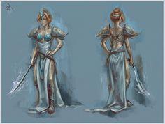 Almalexia concept by RisingMonster.deviantart.com on @DeviantArt