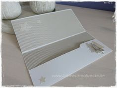 Geldscheinkarte, Envelope-Punch-Board, Wunderbare Weihnachtsgrüße Stampin´Up!, Framelits Sterne,