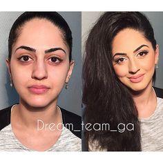 Нежный макияж для нашей нежной и милой клиентки Гюнай❤️ стилист Диана #Padgram