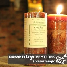Coventry Creations Goddess Affirmation Pillar Spell Candle with Blessing Printed on Specially Made Parchment Paper Wicca Sold By Sacred Tiger >>> FIND OUT @ http://www.laminatepanel.com/store/coventry-creations-goddess-affirmation-pillar-spell-candle-with-blessing-printed-on-specially-made-parchment-paper-wicca-sold-by-sacred-tiger/?a=9452