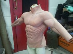 Latex Rubber muscle suit