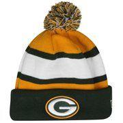 7546dffe1e7 New Era Green Bay Packers 2013 On-Field Player Sideline Sport Knit Hat -  Green