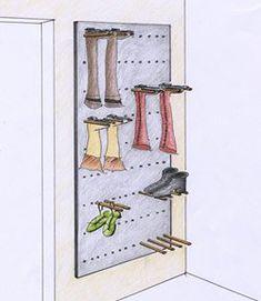 11 besten garderobe emily bilder auf pinterest garderoben projekte und stauraum. Black Bedroom Furniture Sets. Home Design Ideas
