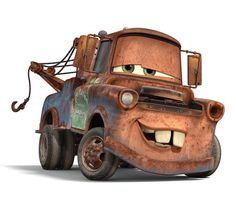 Favorite Character in Cars: Mater!