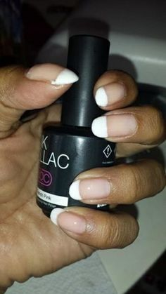 French menicure 121 french pink met 101 soft white