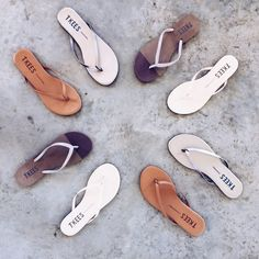 We are in a flip flop state of mind with this beautiful weather! Come shop with us and get your perfect beach sandal!