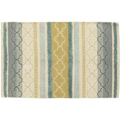Pier One Chenille Rug with Embroidery ($19) ❤ liked on Polyvore featuring home, rugs, backgrounds, pattern, blue pattern rug, rectangle rugs, blue stripe rug, striped rugs and pier 1 imports