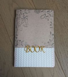 Adorable handmade journal in my Etsy store.