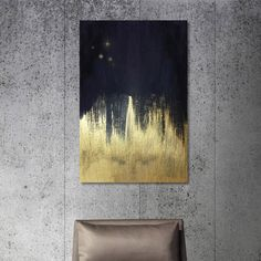 Cold Creek Canvas Print - DIY Idea? This would be super easy.