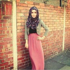#Steet hijab fashion ^^