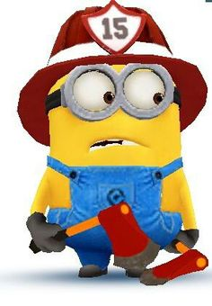 Fire Fighter Minion