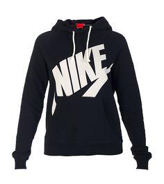 NIKE Logo hoodie NIKE screen print logo on front Single kangaroo pocket Long sleeves Soft inner fleece for ultimate comfort Adjustable drawstring on hood