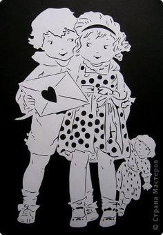 По открытке-валентинке. фото 16