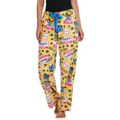 "NEW/"" Little Mermaid ARIEL PLUSH Lounge SLEEP Pajama PANTS Women/'s Sz 3XL 22W 24W"