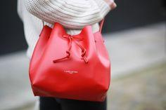 The Brunette - Lancaster bucket bag