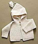 Pakucho Organic Cotton Baby Hoodie.